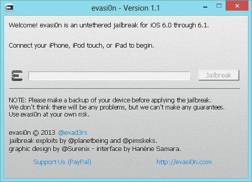 evasi0n 1.1 Jailbreak   Evasi0n passe en version 1.1