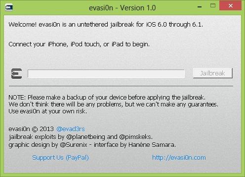 evasi0n version 1.0 Jailbreak iOS 6.x   EVASI0N débarque...