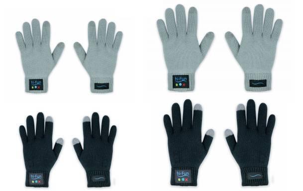 gants hiCall hi Call   Les gants tactiles et communicants...