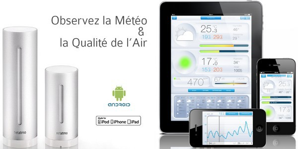 netatmo apple store Netatmo débarque en Apple Store