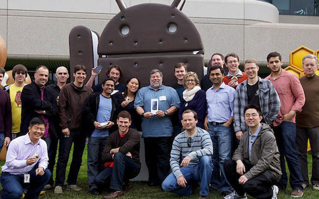 steve wozniak android LiPhone est un peu en retard
