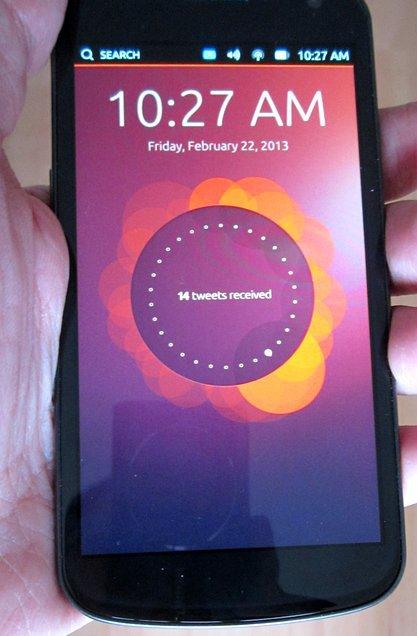 ubuntu touch installe