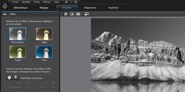 Cyberlink PhotoDirector 4 effets