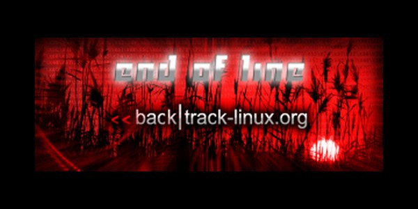 end of line backtrack Linux   Kali remplace BackTrack