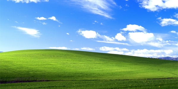 windows xp fond ecran