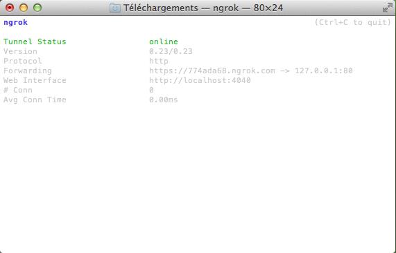 ngrok OS X