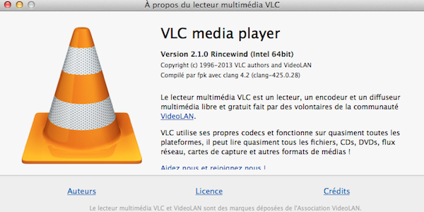 vlc media player 2 1 VLC 2.1 toujours plus complet