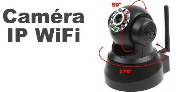 caméra ip wifi à vision nocture pas chère - cachem