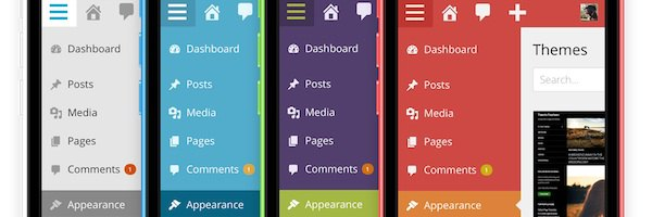 wordpress mobile Wordpress passe en version 3.8