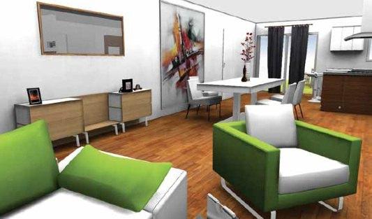 am nager votre int rieur avec homebyme cachem. Black Bedroom Furniture Sets. Home Design Ideas