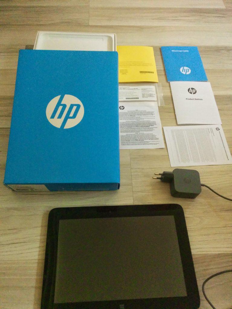 HP Omni 10 packaging