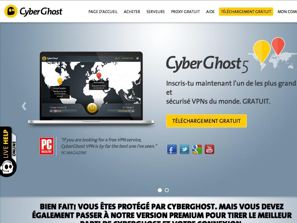 Test-CyberGhost-VPN