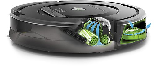 test de l 39 aspirateur robot roomba 880 cachem. Black Bedroom Furniture Sets. Home Design Ideas
