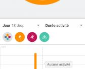 Android – Une semaine avec Google Fit