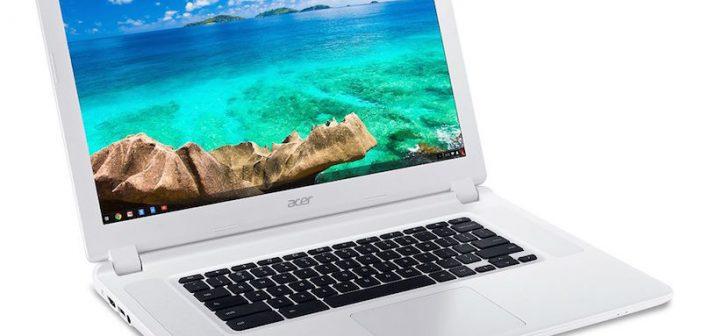 ACER lance le premier Chromebook 15 pouces