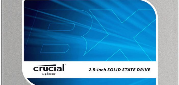 Gagne un SSD Crucial BX100 250 Go