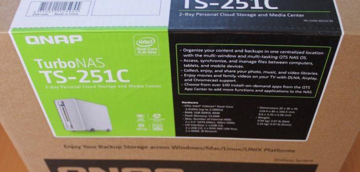 Test QNAP TS-251C : un NAS 2 baies pas cher avec HDMI