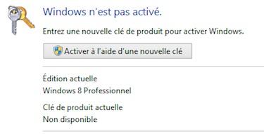 Windows-nest-pas-active