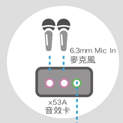 6.3mm-Mic-in