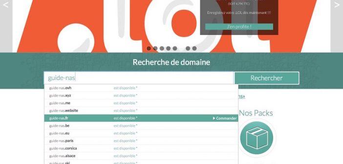 Auto-hébergement : Créer son nom de domaine