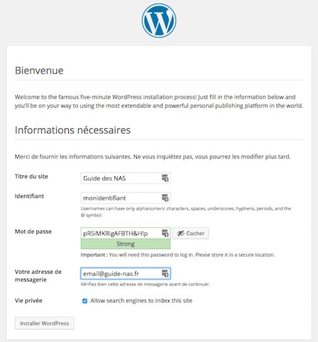 informations-wordpress