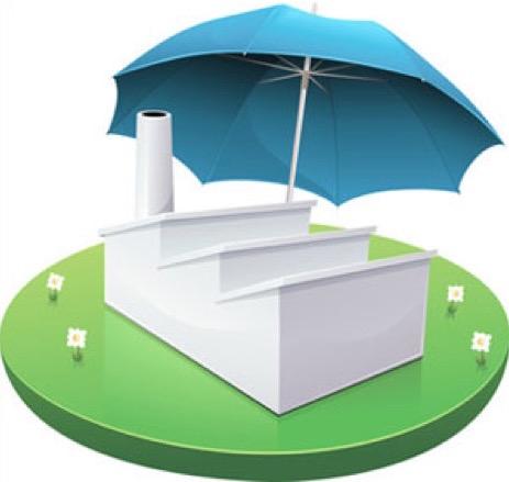 parapluie-usine-herbe