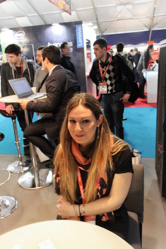 Photo prise à l'IT Partners (mars 2016)
