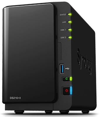synology-ds216ii