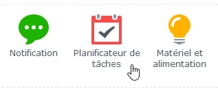 planificateur de tâches synology