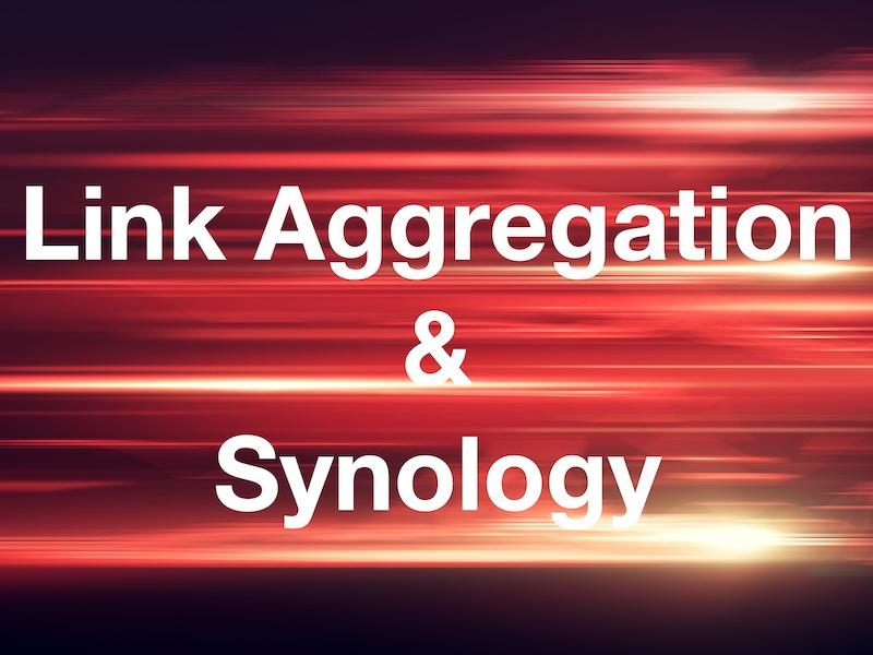 link aggregation nas synology
