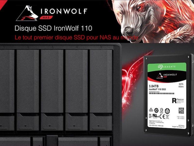 SSD NAS IronWolf