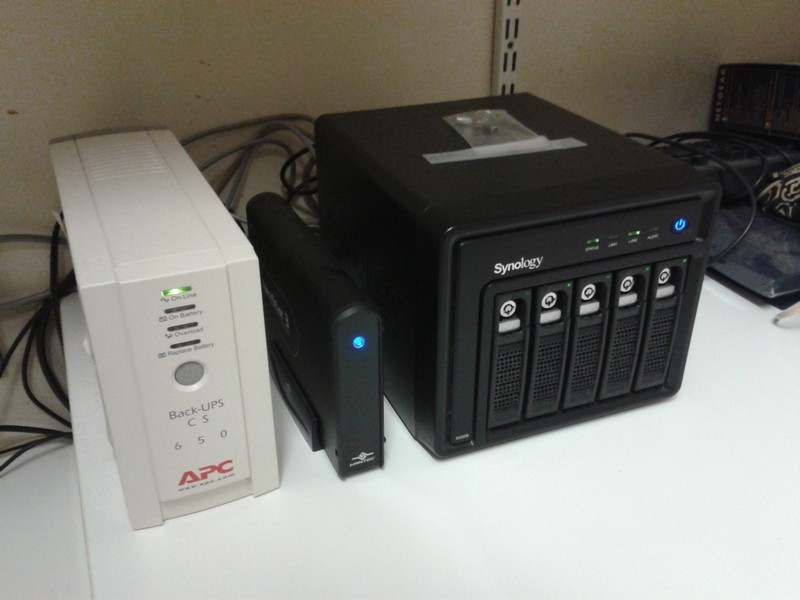 NAS Synology DS508