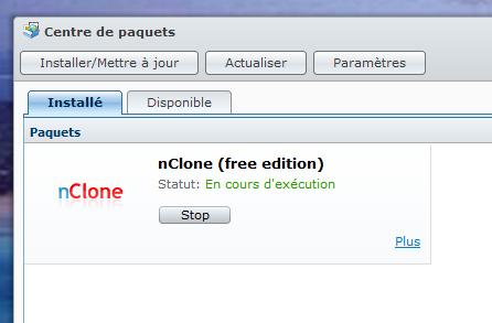 nclone3 NAS facile : Sauvegarder / Réinstaller son PC